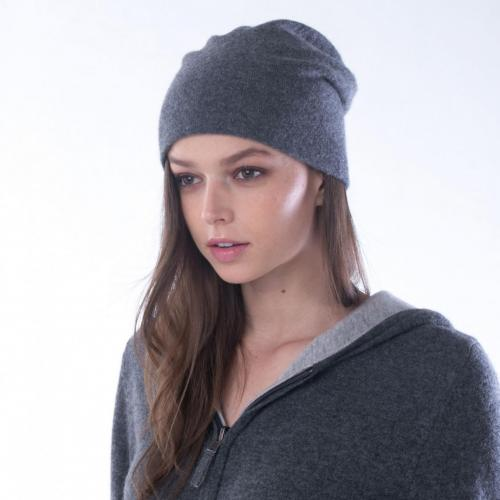 Bonnet gris cendre