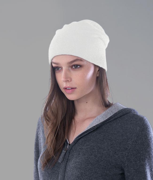Bonnet blanc ecru