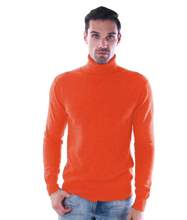 Col roule orange