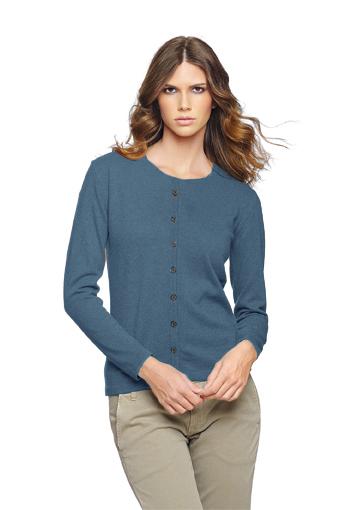Rdc cardigan bleu moyen