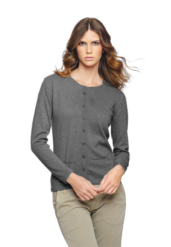 Rdc cardigan gris fonce poche