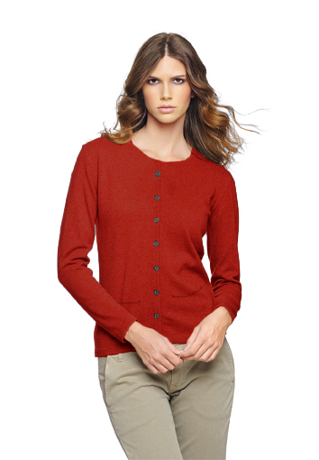 Rdc cardigan rouge 1